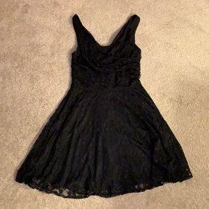 EXPRESS Lace Dress Black